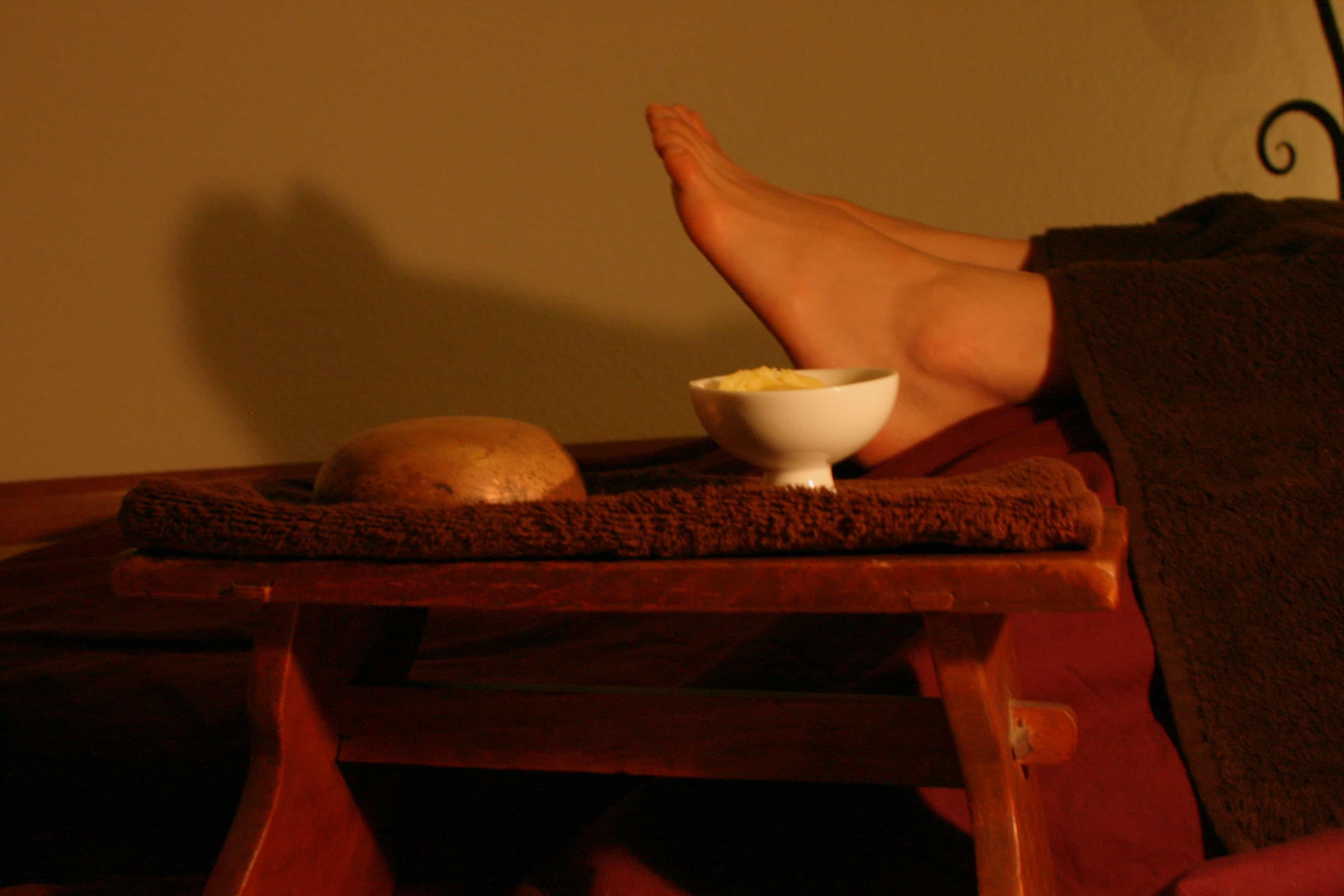 Massage Terre et Ciel, 1h15 CHF 100.-