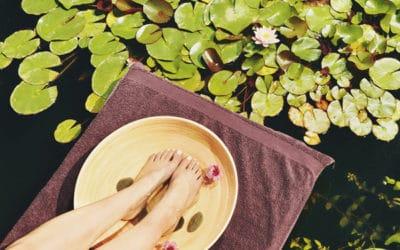 Le hit de l'été : Soin-Massage Jambes légères et pieds tout doux