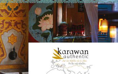 Les Linges en coton Bio Karawan Authentic